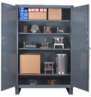 Durham Extra Heavy Duty Lockable Storage Cabinets Model No. HDC-243678-4S95