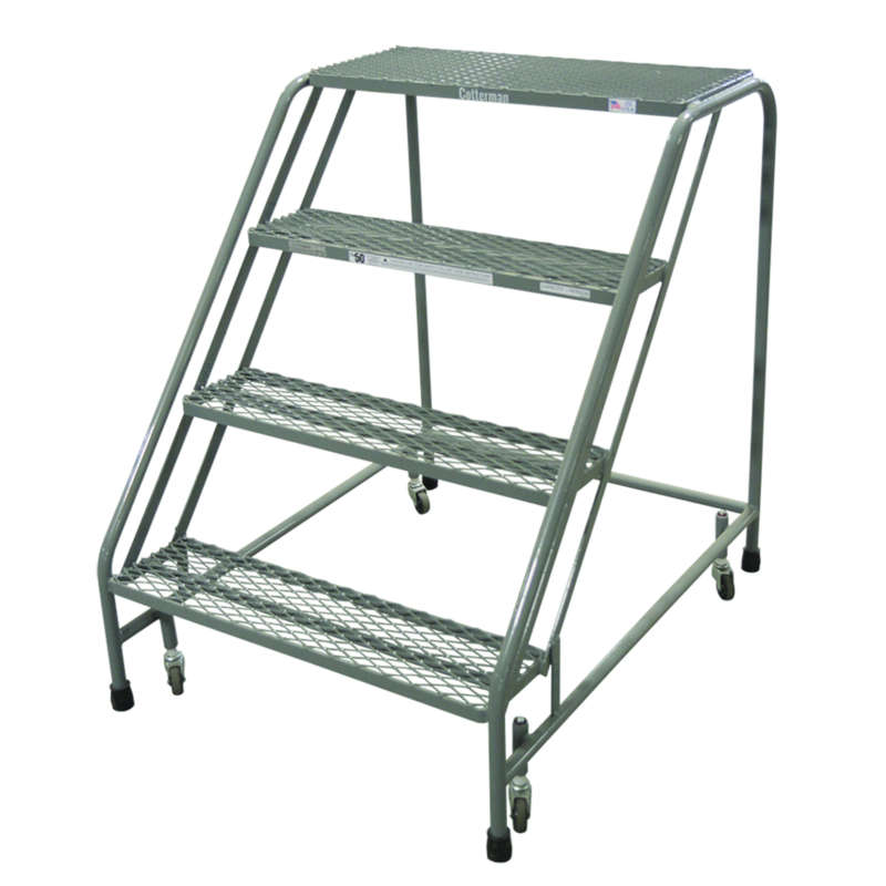 Cotterman Series 1200 Easy 50 Climbing Angle Ladders 30 Inch Tread Width