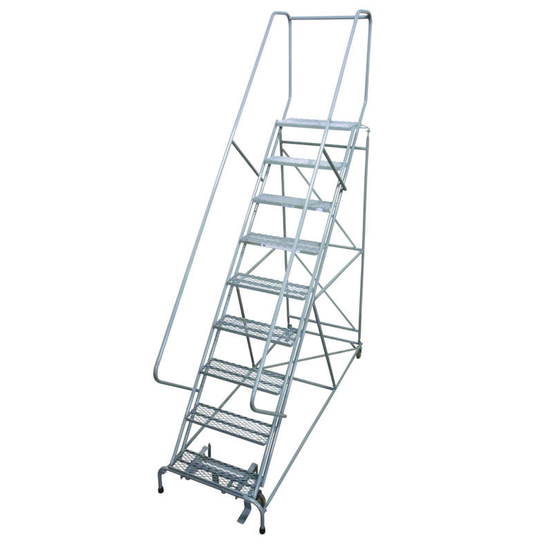 Cotterman Series 1700 Easy 50 Climbing Angle Ladders 24 Inch Tread Width