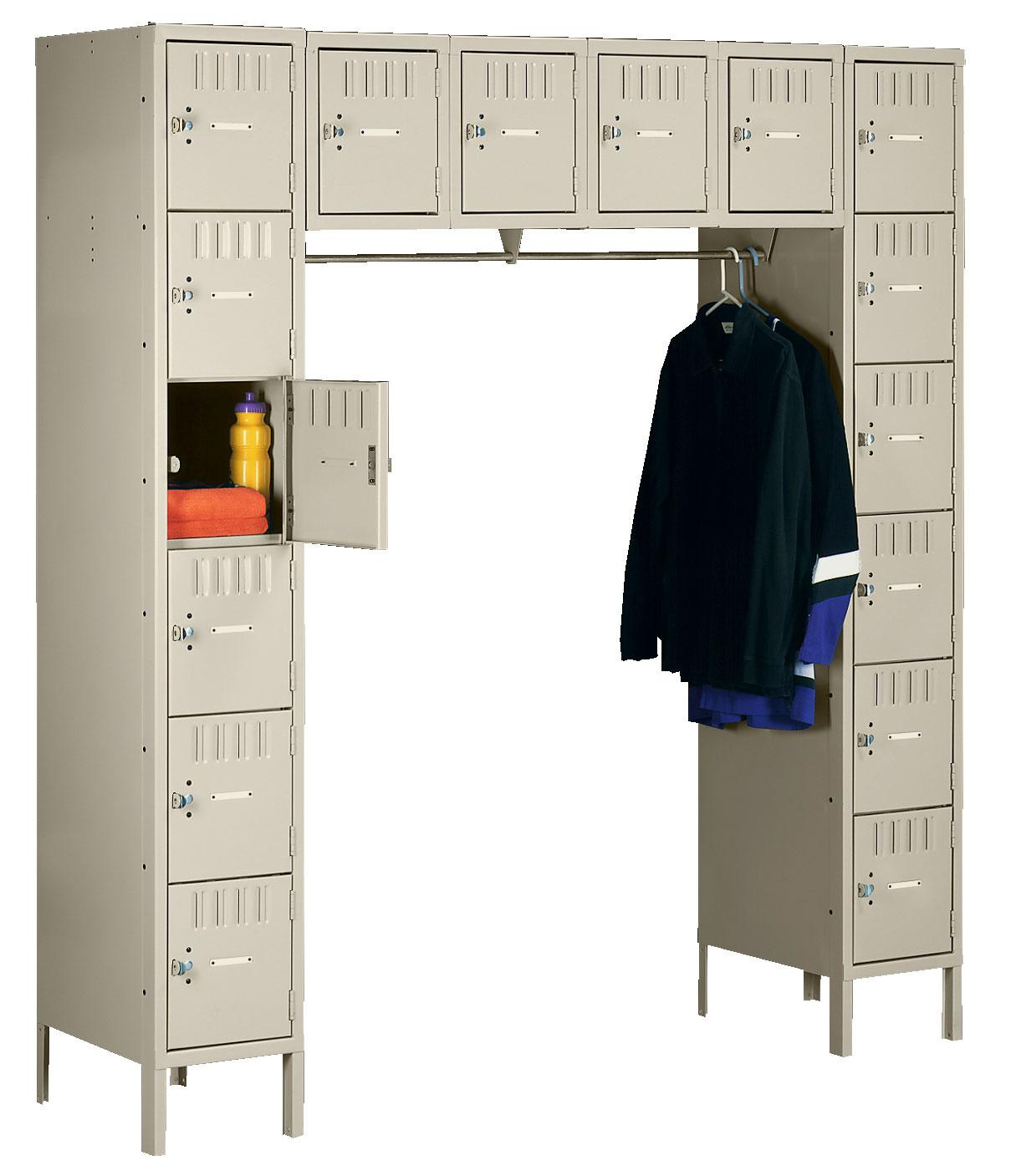 Tennsco 16 Person Locker - Model SRS-721878-1