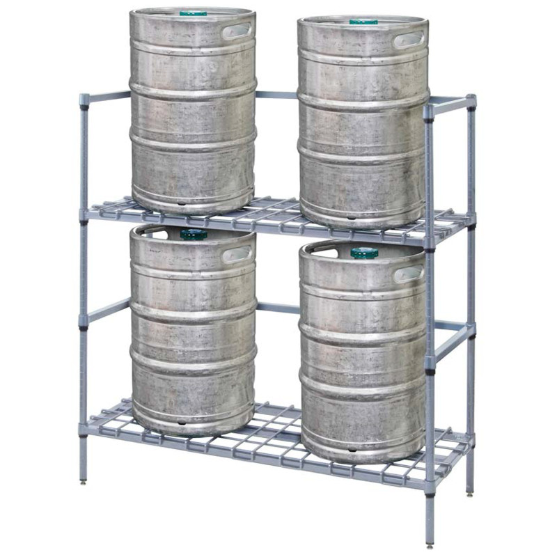 Quantum 2 Tier Keg Racks
