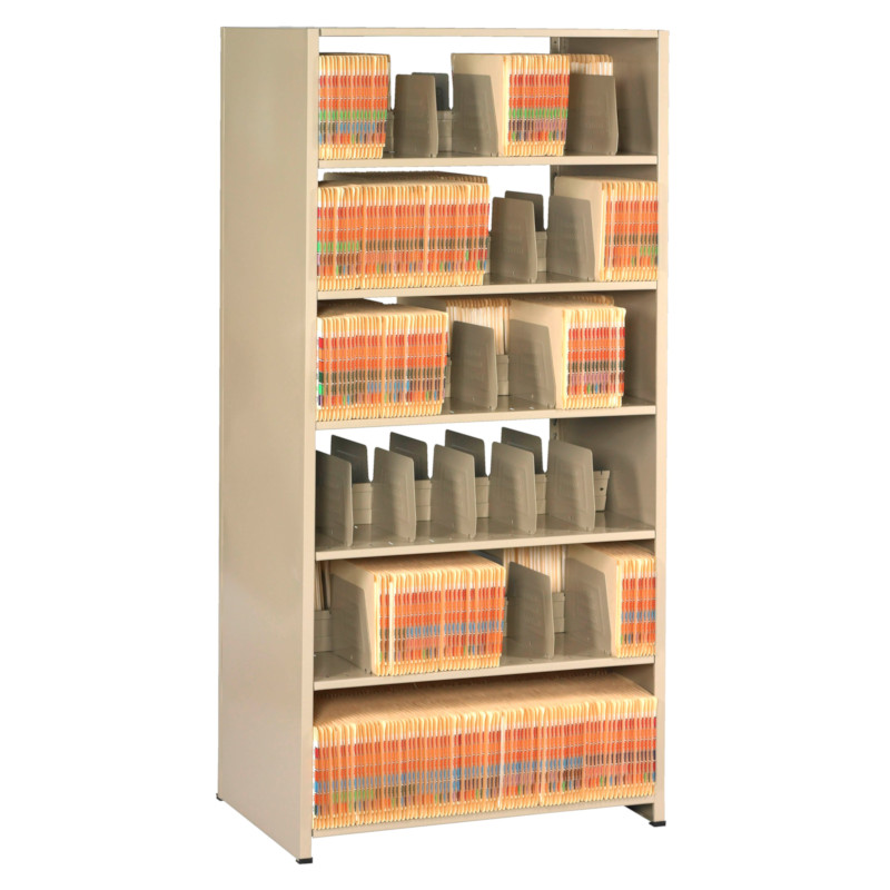 Tennsco Imperial Shelving Systems Double Entry