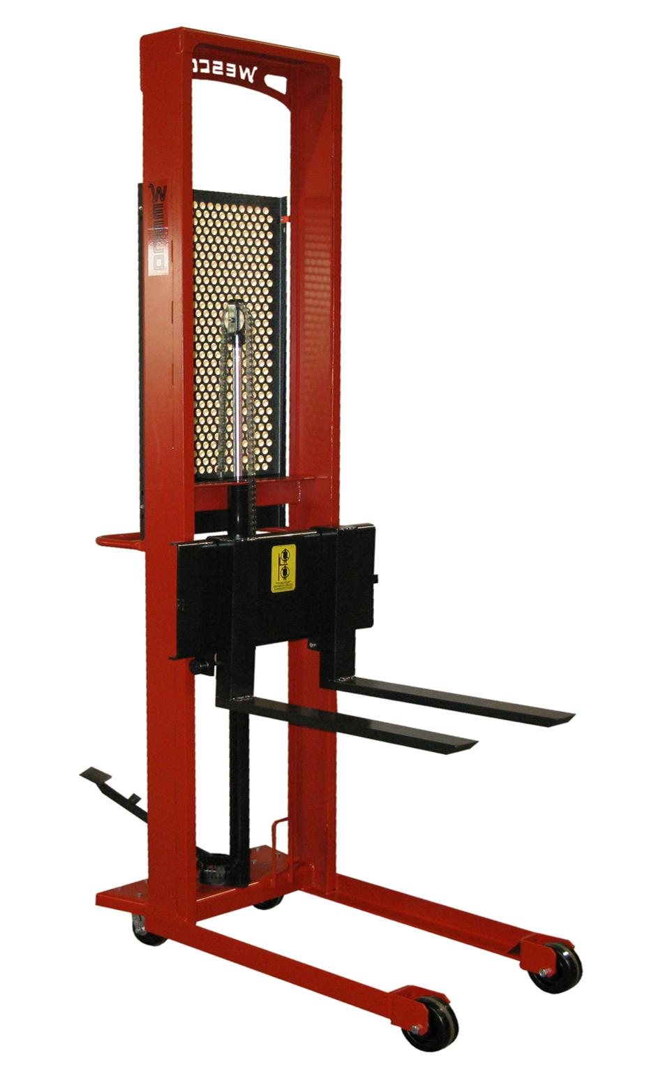 Wesco Straddle Fork Stacker Standard Fork Model