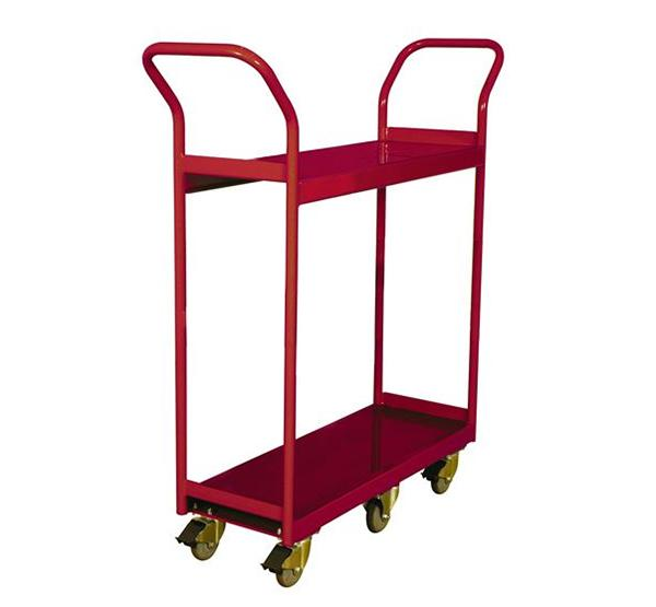260188 2-Shelf Narrow Aisle Shelf Cart
