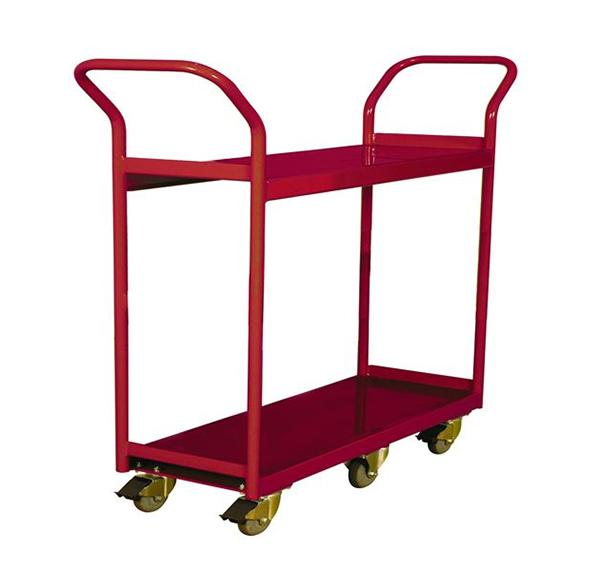 260193 2-Shelf Narrow Aisle Shelf Cart