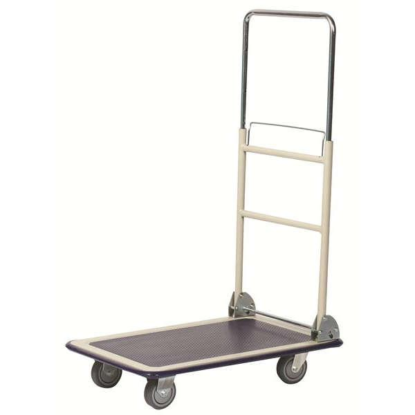 Wesco Telescoping Handle Platform Trucks