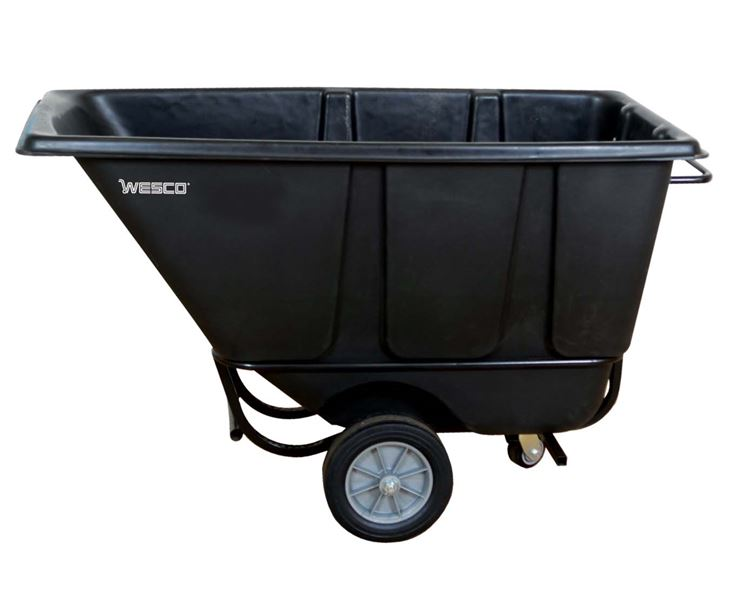 Wesco 272580 Fork Lift Tilt Cart