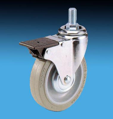 Stromberg 28 Series Supreme Lock Caster with threaded stem