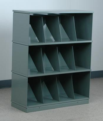 Stackbin 3-Shelf Medical Record Storage Unit, Model 3-3MR