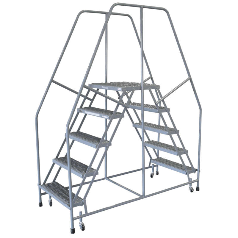 Cotterman Series 3000 Twin Step Access Ladders 18 Inch Wide