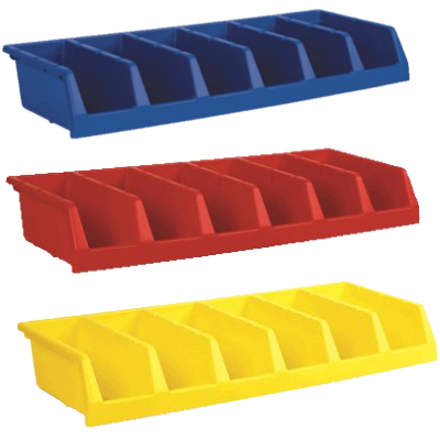 AkroBins 12 Inch System Bins - 30312 - in 3 different colors
