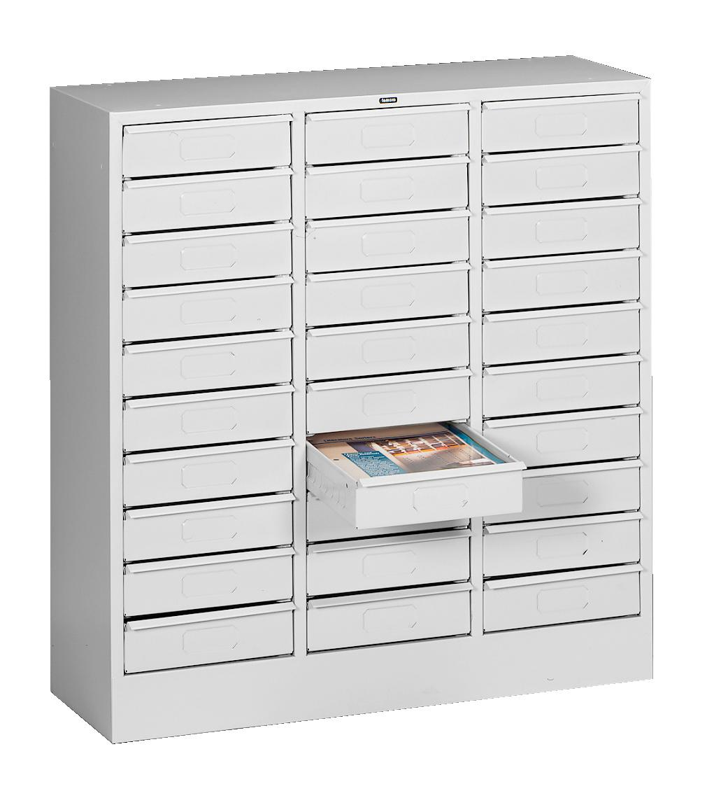 30-Drawer Organizers - Letter Size Openings