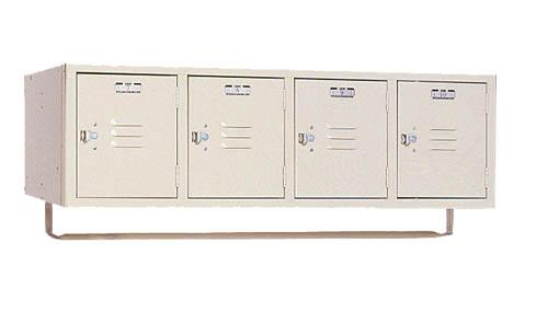 Lyon 4 Person Locker Rack Units