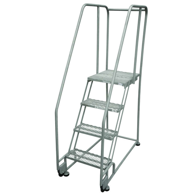 Cotterman TiltNRoll Ladders 16 Inch Wide 20 Inch Deep Step