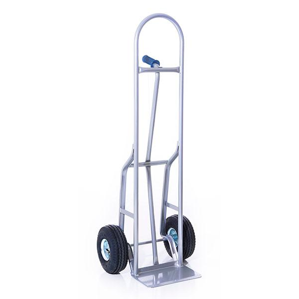 Dutro 510P Steel Single-Pin Standard-Plate 10-inch-Wheel Hand Truck