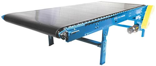 640 Heavy Duty Belt Over Roller Conveyor