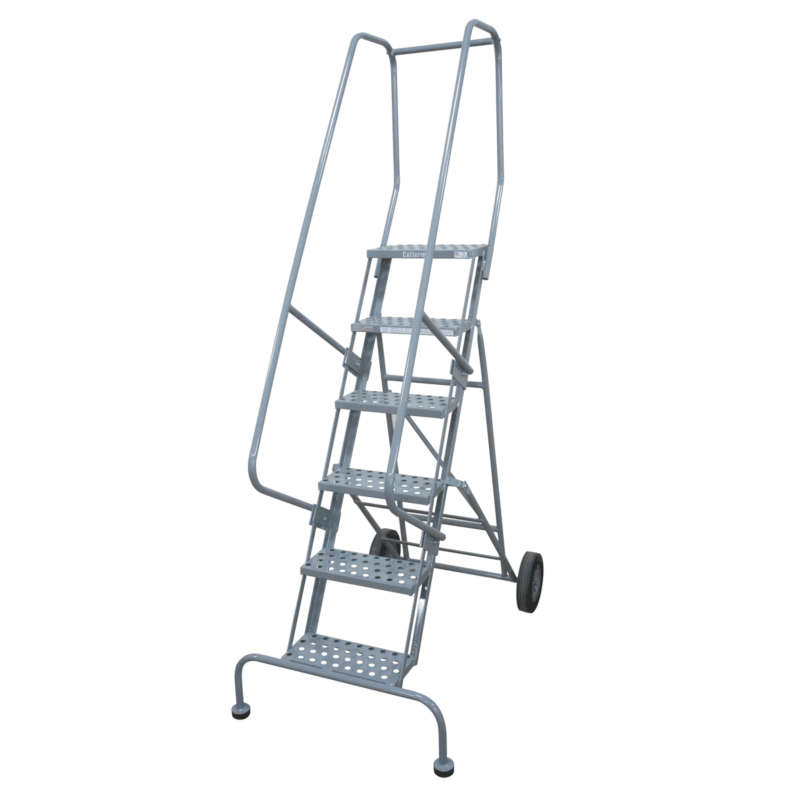 Cotterman Series 6500 Welded Steel Roll-N-Fold Ladder
