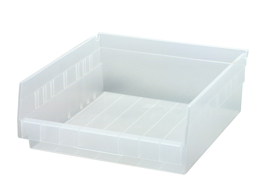 Clear-View Economy Shelf Bins, Model QSB109CL