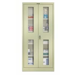 Hallowell Ventilated Door Cabinets Parchment