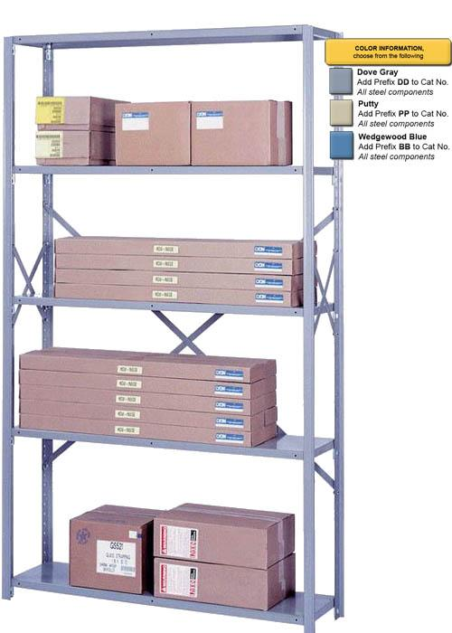 Lyon 8000 Series Open Shelving - 42 Inch Wide