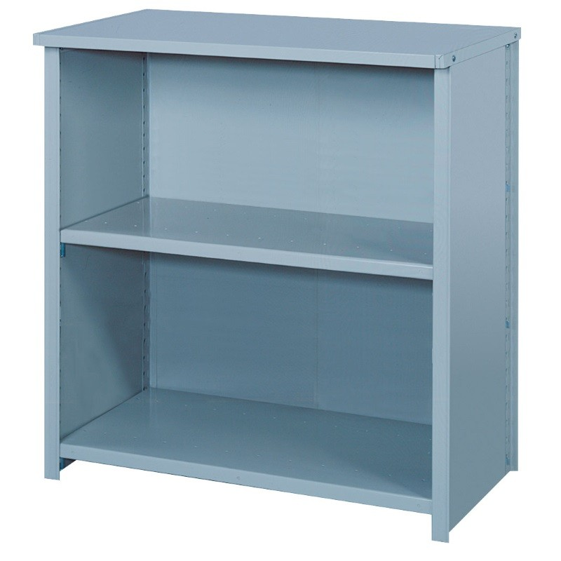 Lyon 8000 Series Closed Counter Shelving with 3 Heavy Duty Shelves - 36 x 18 x 39