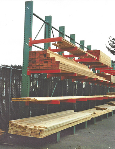 Tubular Lumber Racks
