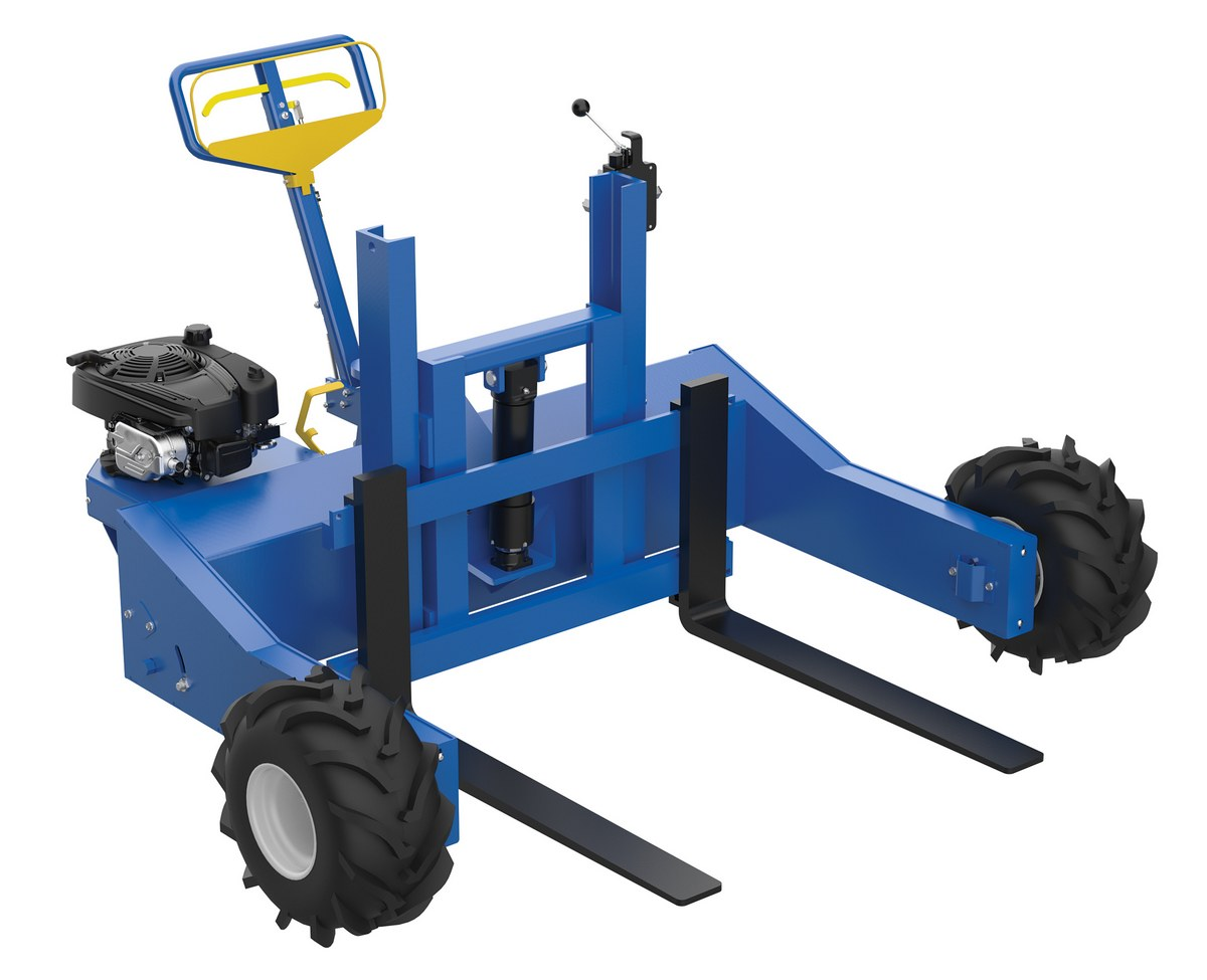 Vestil ALL-T-4-GPT Powered All Terrain Pallet Trucks