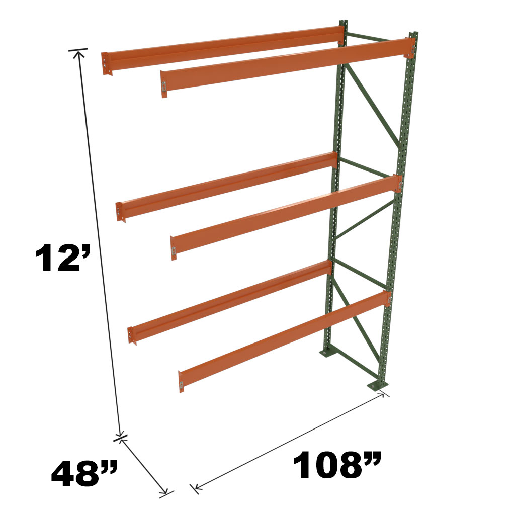 Stromberg Teardrop Storage Rack Add On without Deck