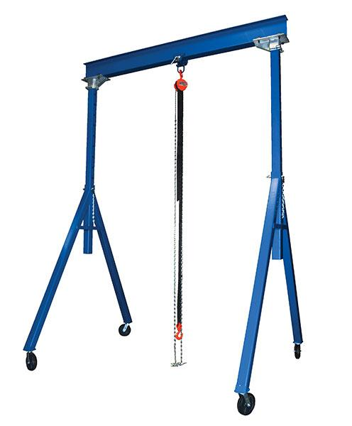 Vestil Adjustable Steel Gantry Crane