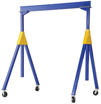 Vestil Adjustable Steel Gantry Cranes - Knockdown