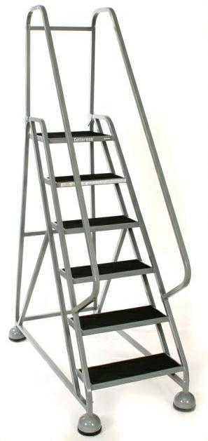 Cotterman AlumaStep Rolling Ladder
