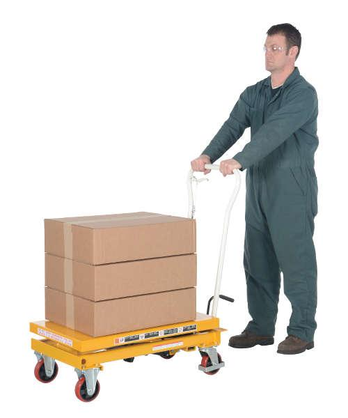 Vestil Auto-Shift Hydraulic Elevating Cart Model No. CART-550-AS
