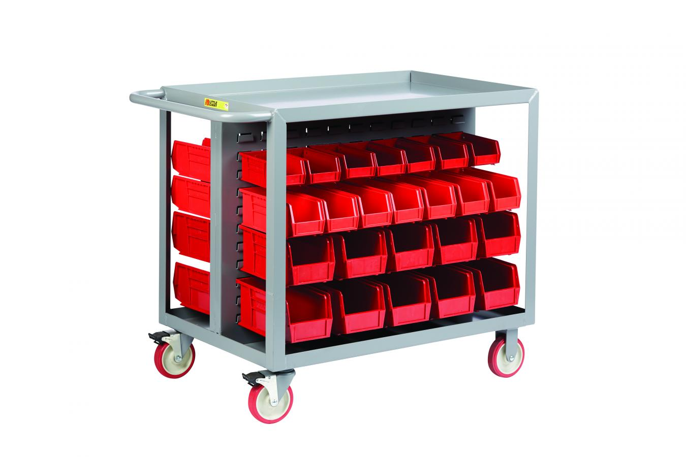Little Giant BC-2436-TL Bin Cart 2