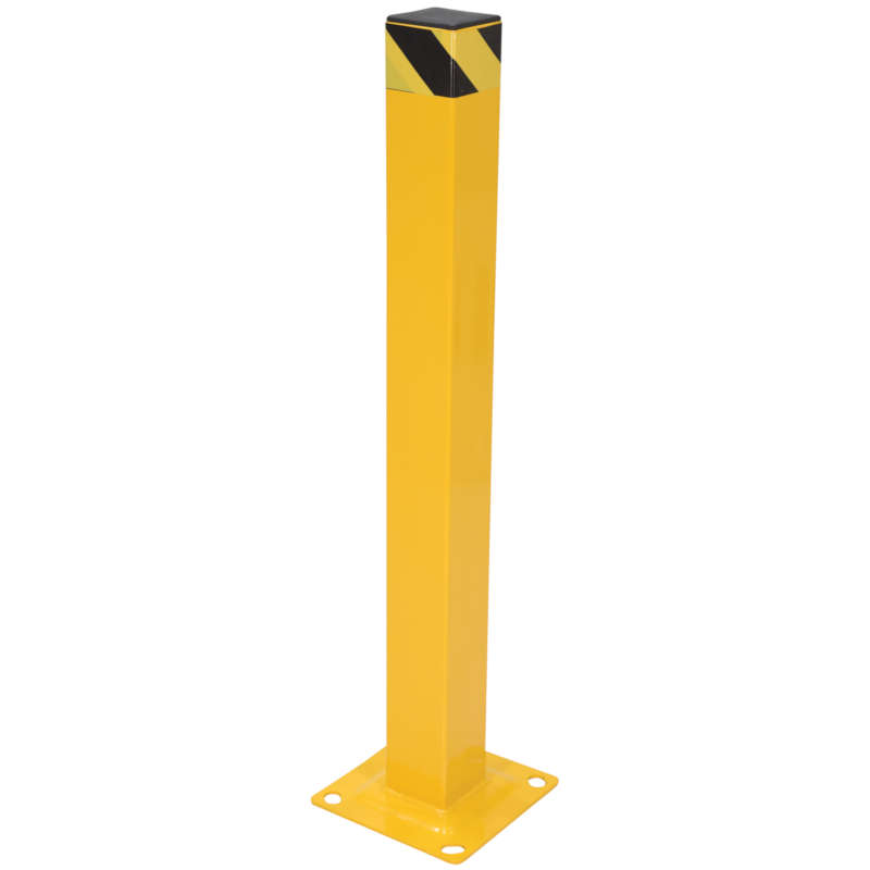 Vestil Square Steel Bollard Model No. BOL-SQ-42-4