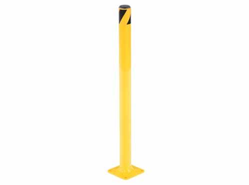 "Vestil Steel Pipe Safety Bollards 1-3/4"" Diameter"