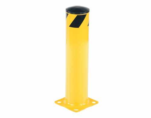 "Vestil Steel Pipe Safety Bollards 5-1/2"" Diameter"
