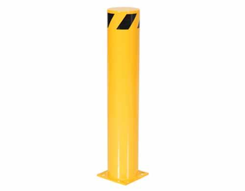 "Vestil Steel Pipe Safety Bollards 6-5/8"" Diameter"