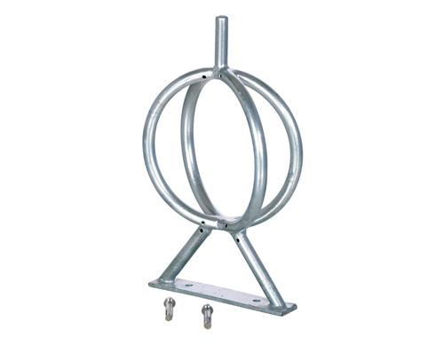 Vestil BR-GL-G Galvanized Bicycle Rack