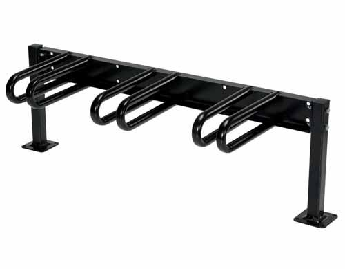 Vestil BR-M3S-BK Bicycle Rack A