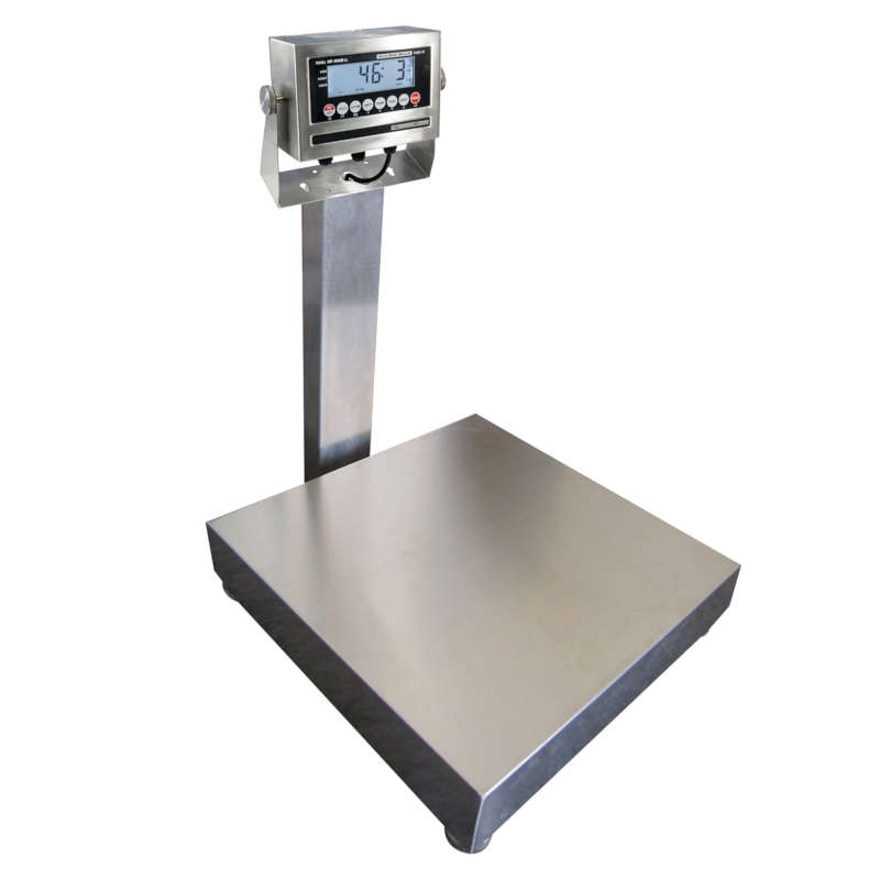 Vestil Stainless Steel Bench Scales - Legal for Trade - Model No. BS-915SS-1818-400