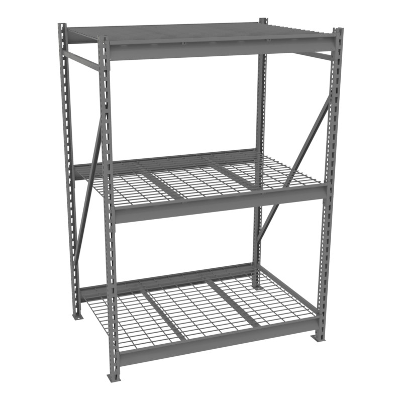 Tennsco Bulk Storage Racks - 36 inch Deep - Wire Decking