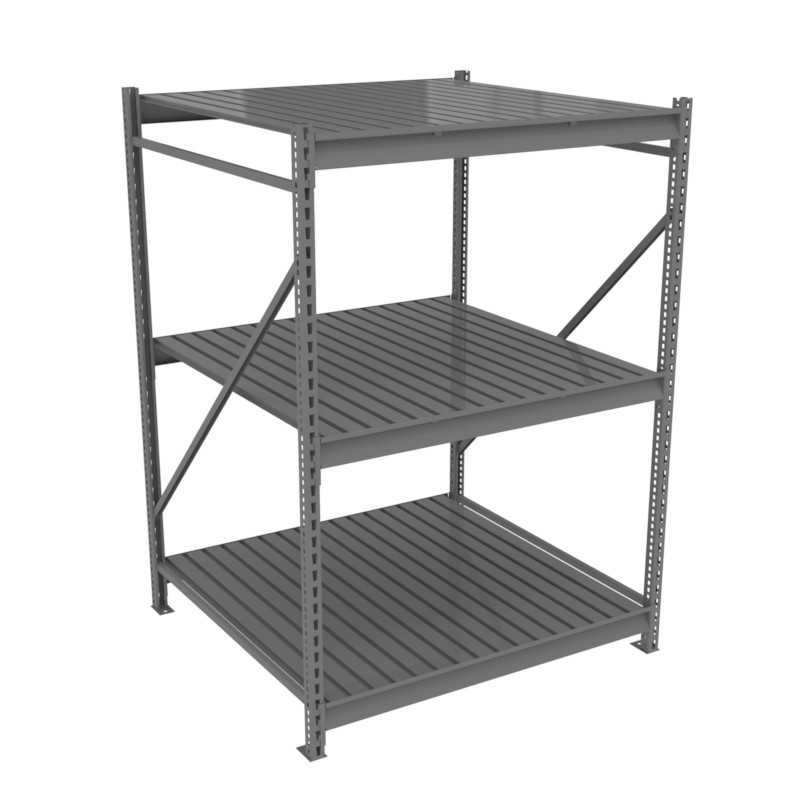Tennsco Bulk Storage Racks - 48 inch Deep - Corrugated Decking