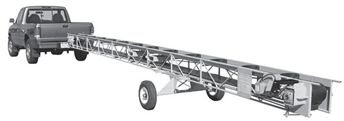 E-ZLIFT Belt Bucket Conveyor