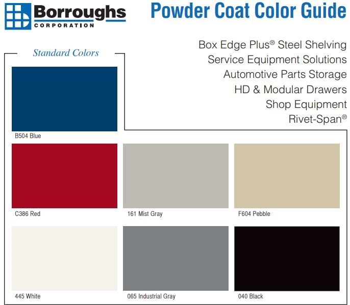 Borroughs Color Guide