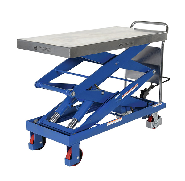 Vestil CART-1500-D-TS Hydraulic Elevating Cart