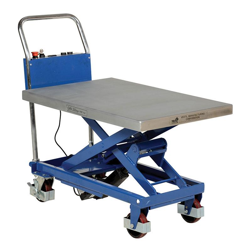 Vestil CART-400-LA Linear Actuated Elevating Carts