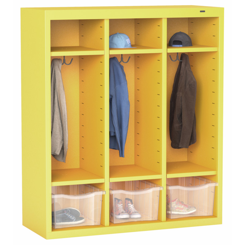 "40"" High Cubby Locker with 9 Openings"