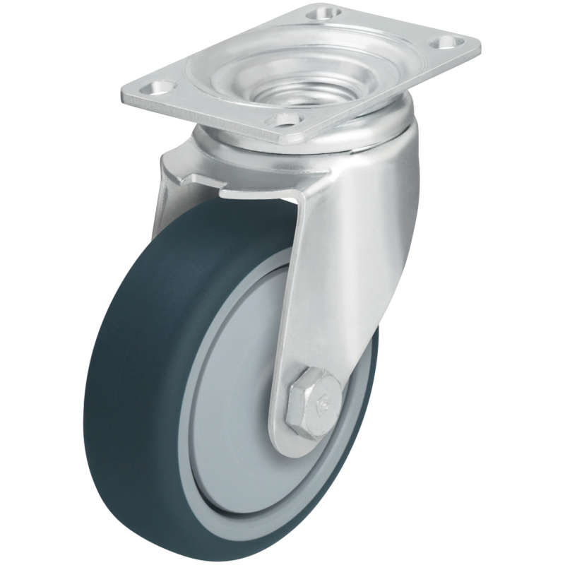 Vestil High Quality Non-Marking Thermoplastic Polyurethane Casters