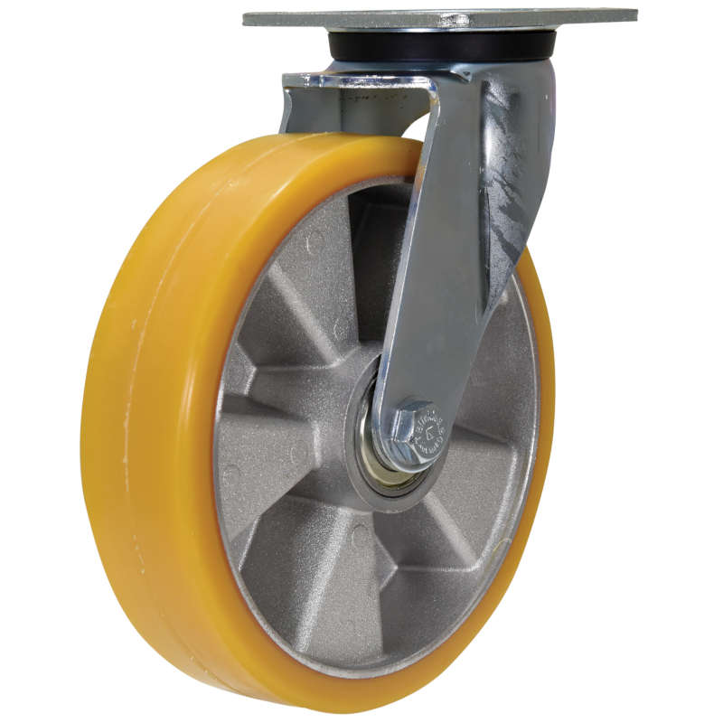 Vestil Medium Duty High Quality Non-Marking Polyurethane-Elastomer Caster