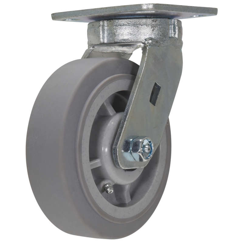 Vestil Medium-Heavy Duty High-Quality Non-Marking Thermoplastic Rubber Casters